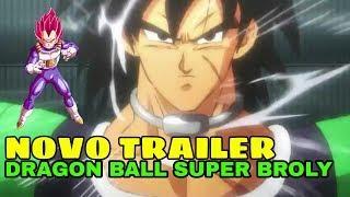 Novo trailer de dragon ball super broly, dublado em full hd, +novas cenas
