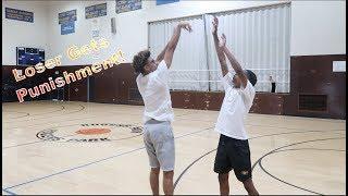 IRL Basketball 1v1 I Loser Gets An Extreme Punishement!!