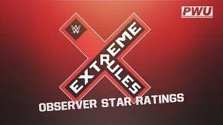 Extreme Rules Wrestling Observer Star Ratings
