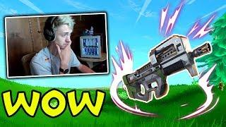 NINJA & MYTH REACT TO NEW COMPACT SMG! Fortnite - Funny and OP Moments