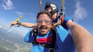 Tandem Skydive| Sagar from Chicago IL
