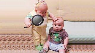 Funniest Twins Baby Make Your Day - Funny Fails Baby Video