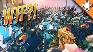 1000 D.VAS?! WTF IS THIS GLITCH??? Overwatch Funny & Epic Moments 434