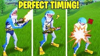 PERFECT TIMING DEATH! ???? Fortnite Battle Royale Funny Fails & Savage Moments Compilation #99