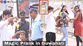Magic Glass Prank in Guwahati | Prank in Assam | Assamese Prank | Buddies Assam | Rabbani Soyam