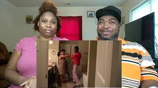 GETTING C.A.U.G.H.T IN THE SHOWER WITH DEE PRANK ON (FUNNYMIKE) REACTION
