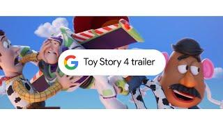 Here to help: Movie trailers with Google Search (Toy Story 4)