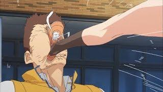 Hilarious Punches/Kicks in Anime | Funny Moments