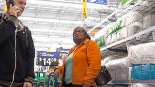 PARANOID PRANK - Freaking People Out At Walmart
