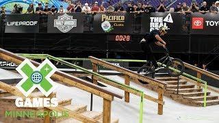 Chad Kerley wins BMX Street gold | X Games Minneapolis 2018
