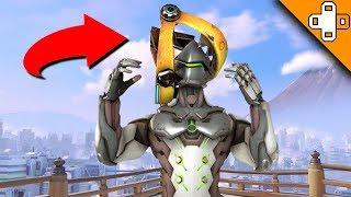 Junkrat's New HEAD TRAP! Overwatch Funny & Epic Moments 701