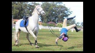 EXTREME HORSE FAILS II HORSE FREAK