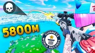 *NEW* Record 5800m KILL SHOT..!! | Fortnite Funny and Best Moments Ep.373 (Fortnite Battle Royale)