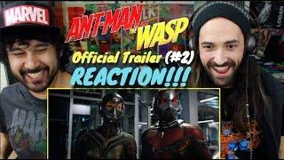 ANT-MAN AND THE WASP - Official TRAILER #2 REACTION!!!