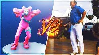 *NEW* FORTNITE HOOTENANNY DANCE IN REAL LIFE! - Fortnite Funny Moments and Highlights #32