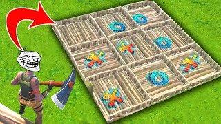 "PLAY ""TIC-TAC-TOE"" in FORTNITE SEASON 4 