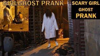 SCARY GIRL GHOST PRANK | PRANK IN INDIA | BY VJ PAWAN SINGH