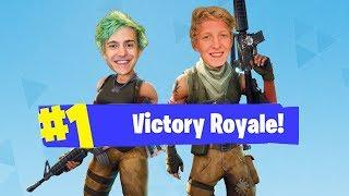 Tfue & Ninja Duo For The First Time Ever!! FUNNY & SAVAGE Moments!