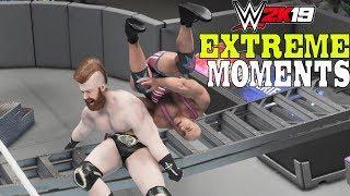 WWE 2K19 Extreme Moments!