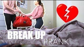 REVENGE BREAK UP PRANK TURNS INTO PROPOSAL!!!? (GONE WRONG)