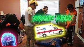 FUNNY SEIZURE PRANK ON RUNIKTV AND FRIENDS
