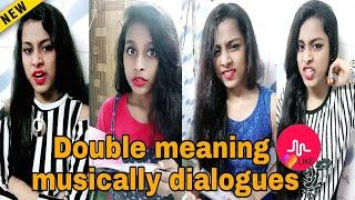 Double meaning most funny tiktok musically videos | best musically videos compilation