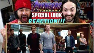 AVENGERS: ENDGAME | SPECIAL LOOK - REACTION!!!