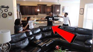 BREAKING UP IN FRONT OF CARMEN AND COREY PRANK !!!