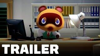 Animal Crossing Nintendo Switch Announcement Trailer