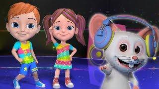 Kaboochi Dance For Kids   Kids Dance Songs   Little Treehouse India   Funny Dance For Babies