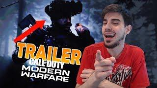 REACCIÓN TRAILER CALL OF DUTY MODERN WARFARE