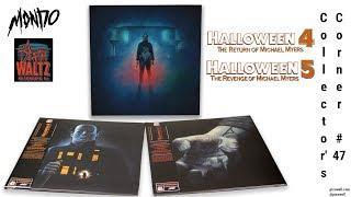 HALLOWEEN 4 & 5 Vinyl Soundtracks | Death Waltz Records/Mondo - Collector's Corner