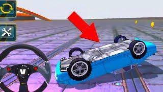 Extreme Sports Car Stunts 3D مضحك الطفل تعلم الألوان مع البالونات اصبع الأسرة أغنية للأطفال