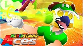 Everything is more fun with Vanoss! - Mario Tennis Aces Funny Moments!