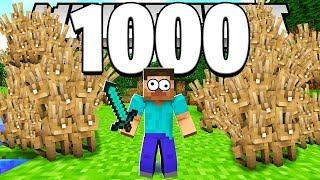 HILARIOUS 5000 RABBIT PRANK IN MINECRAFT MODDED OVERPOWERED MONSTERS INDUSTRIES!
