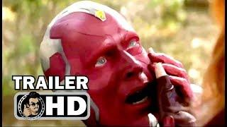"AVENGERS: INFINITY WAR ""End of Vision"" NEW Trailer (2018) Marvel Superhero Movie HD"