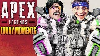 Apex Legends Funny Moments & Epic Fails ,WTF Moments, Twitch Highlights Compilation! #26