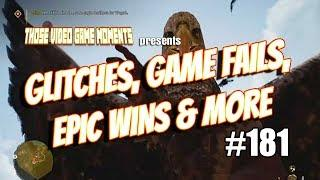 Glitches, Game Fails, Epic & Funny Gaming Moments (PUBG. Fortnite, Far Cry 5 & more!) #181 ????