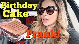 BIRTHDAY CAKE PRANK - Pranksters in Love Family