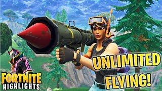 *NEW* UNLIMITED FLYING STRATEGY! (CRAZY MOVEMENT META!) | Best and Funny Fortnite Highlights