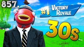 HOW TO WIN IN 30 SECONDS! - Fortnite Funny WTF Fails and Daily Best Moments Ep. 857