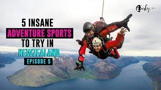 Exploring New Zealand Ep 5 | Insane Advenure Sports New Zealand | Curly Tales