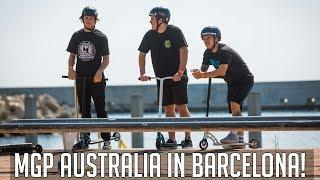 MGP Australia @ Extreme Barcelona 2018 ISA World Scooter Championships