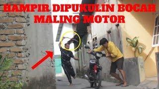 CARA MALING MOTOR PALING MUDAH | PRANK LARI KOCAR KACIR