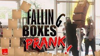 Falling Boxes Prank