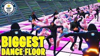 6,000 MATERIALS DANCE FLOOR - FORTNITE *NEW* RECORD! Fortnite Funny Fails and WTF Moments! #18