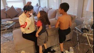 INVISIBLE PRANK ON KIDS! CALLED 911