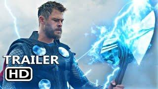 MARVEL'S AVENGERS 4: ENDGAME Official Trailer (2019) SuperHeroes Movie