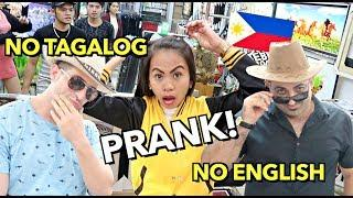 NO TAGALOG, NO ENGLISH PRANK Philippines!???????? (Arabic ONLY) ????