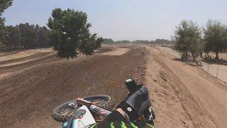 Kaed Kniffing Wringing Out a 125cc   TransWorld Motocross